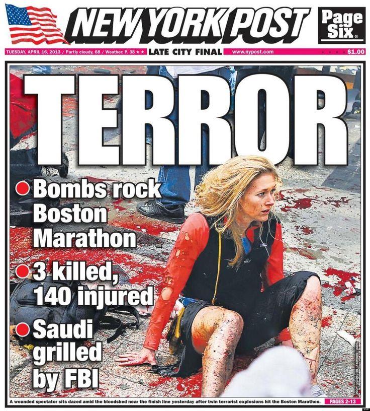 April 22, 2013 Boston Marathon bombing.
