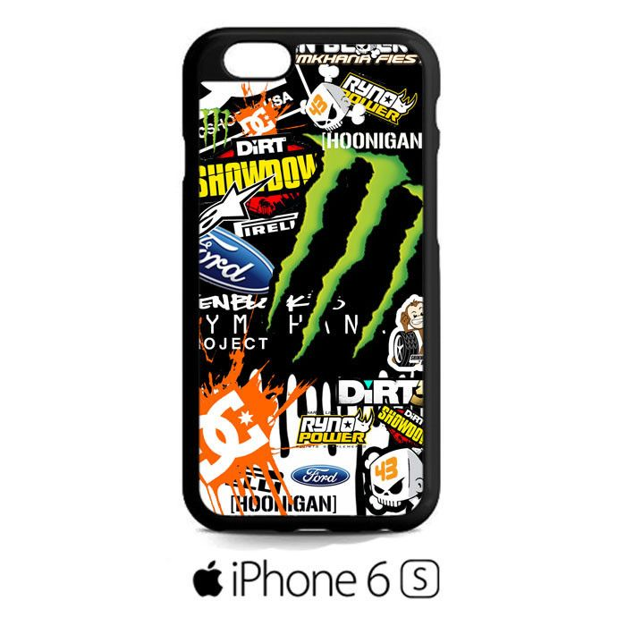 Ken Block 43 Monster Rally Team Gymkhana Dc Shoes Racing iPhone 6S  Case