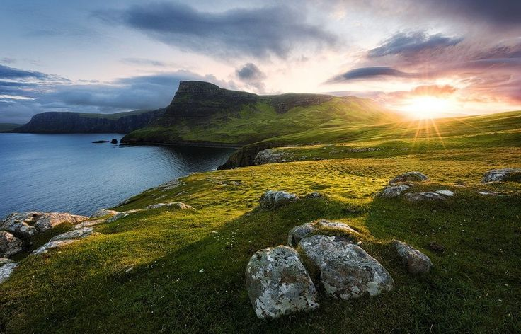 Image result for scotland landscape coast
