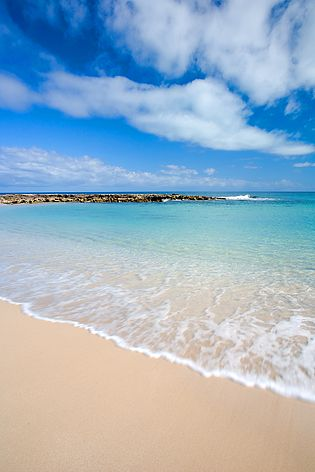 Beach, Coral Bay, North Western Australia by Christian Fletcher