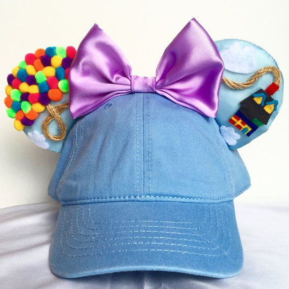 Disney inspired UP Minnie Mickey Mouse ears / hat