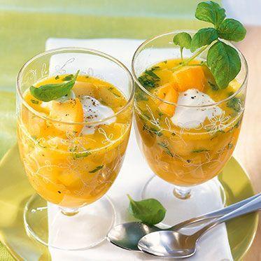 Kalte Zucchinisuppe Rezept | Küchengötter