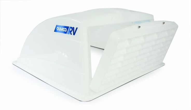 Rv Roof Vent Cover Motorhome Camper Air Flow Ventilation Trailer Camco White