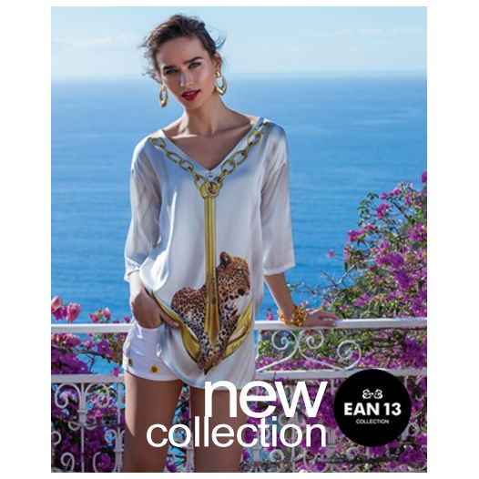 Refined top in silk with #swarovsky elements. #summer #outfit suggested for all day!
