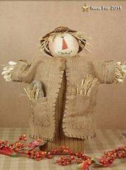 Primitive Scarecrow Dolls - Harvey the Scarecrow from Honey and Me