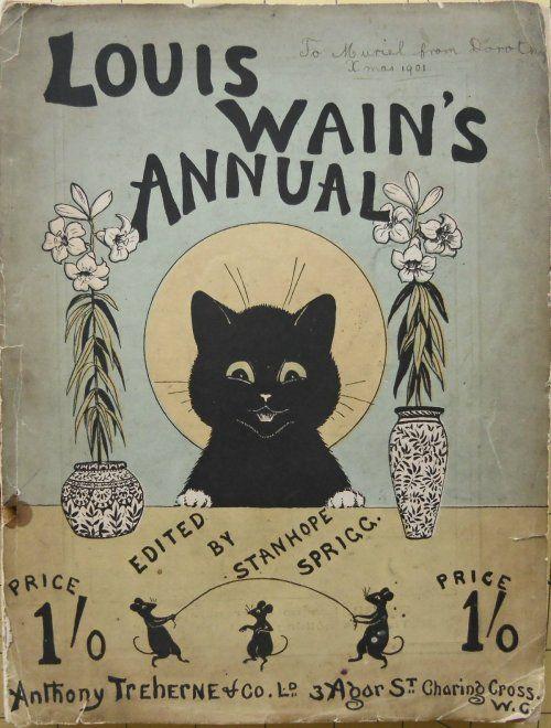 "bunny-realness: "" louis wain's annual 1901 """