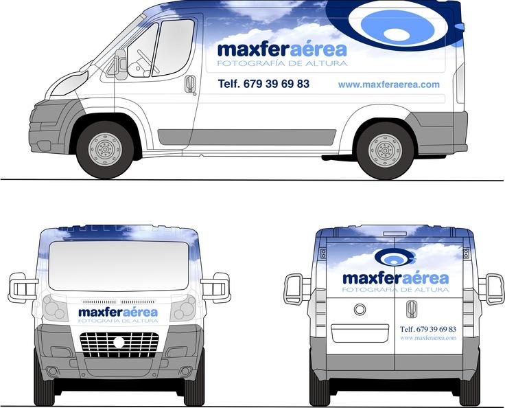 """Rotulación vehículos """"Maxferaerea"""""""