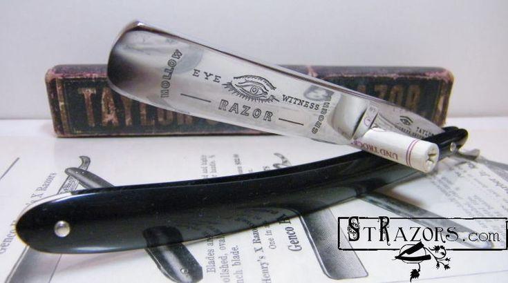 STRAZORS.com - all about classic razors - Taylors Eye Witness, Sheffield.