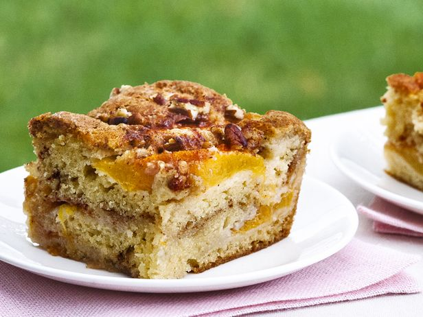 Fresh Peach Cake Recipe : Ina Garten : Food Network                                       http://www.foodnetwork.com/recipes/ina-garten/fresh-peach-cake-recipe2.html?soc=sitesocialpinterest