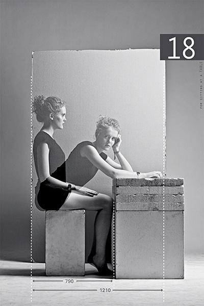 [A3N] : Human reification ( Sitting - chair ) / Paul Gisbrecht