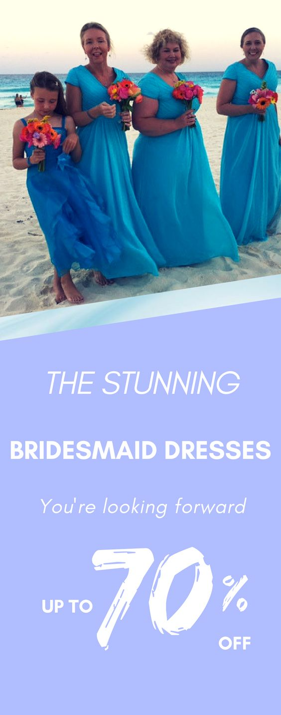 The 2018 discount bridesmaid dresses that you are looking for are ready for you. You can give you up to 70% Off.  They can custom made to all sizes and are made in great quality.
