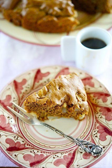 Грушевый пирог с шоколадом/Torta di pere con cioccolato | Элла Мартино Рецепты Кулинарные туры Итальянская кухня
