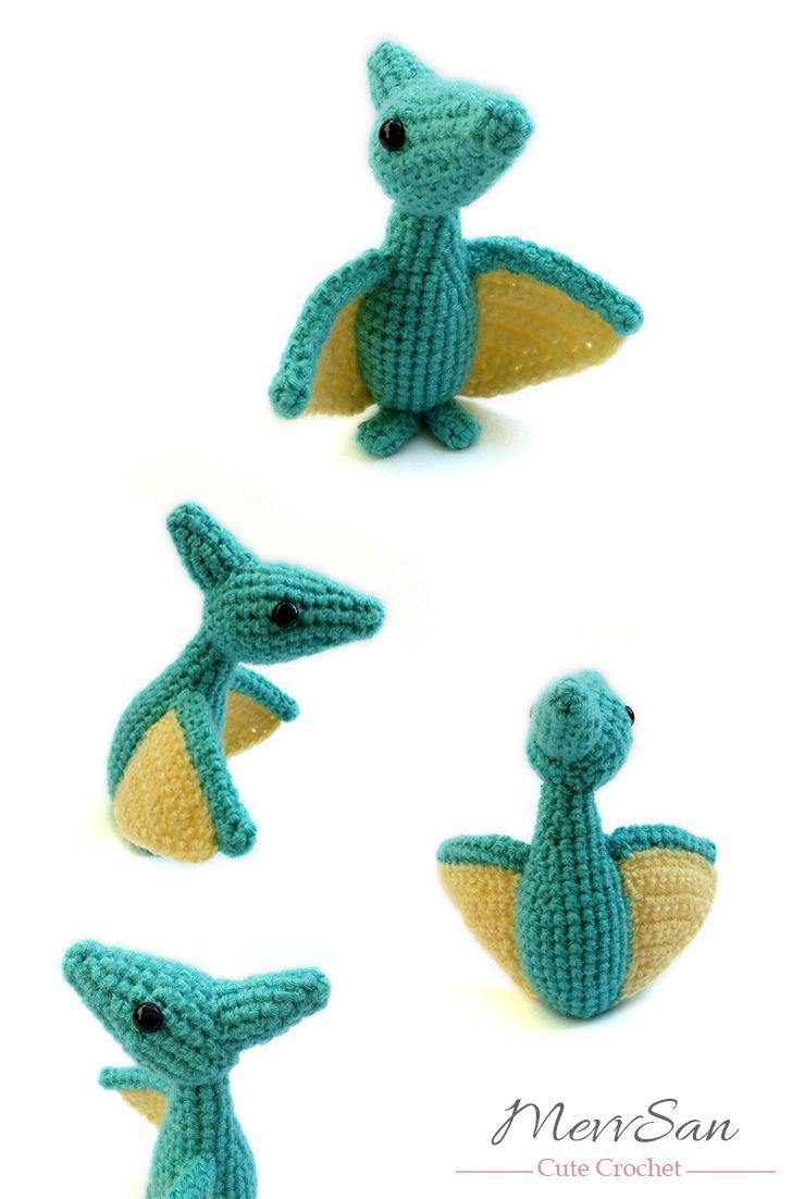 35 best Dinosaur Amigurumi images on Pinterest | Amigurumi ...