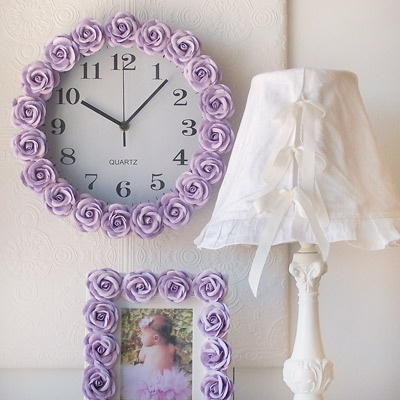 Accessories for her lilac nursery!