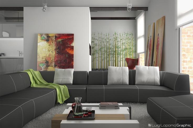 Renovated House Living Room - Sofa Cam