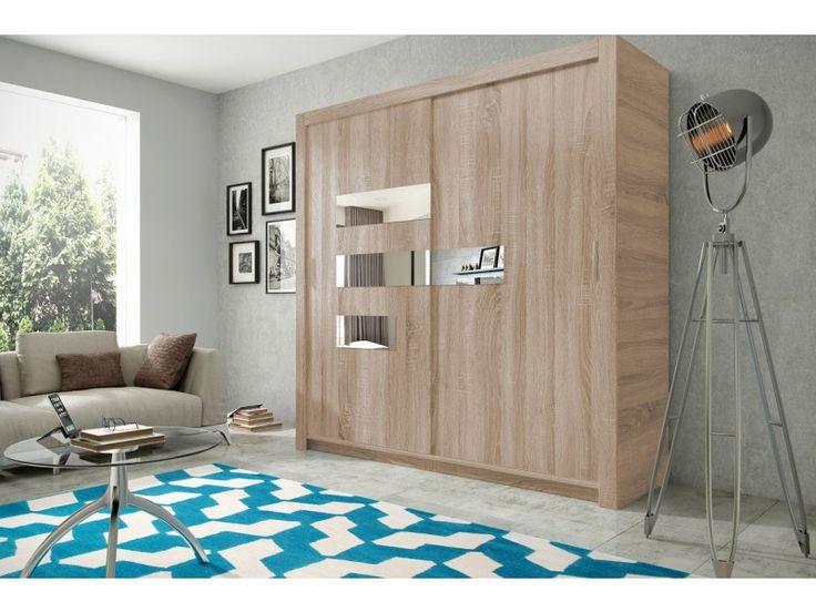 Szafa PUSH 14  #Meble #furniture #sklepmeble #design #polishfurniture #wardrobe #sleepingroom #sonoma #living #home #interior #interiordesign #mirror
