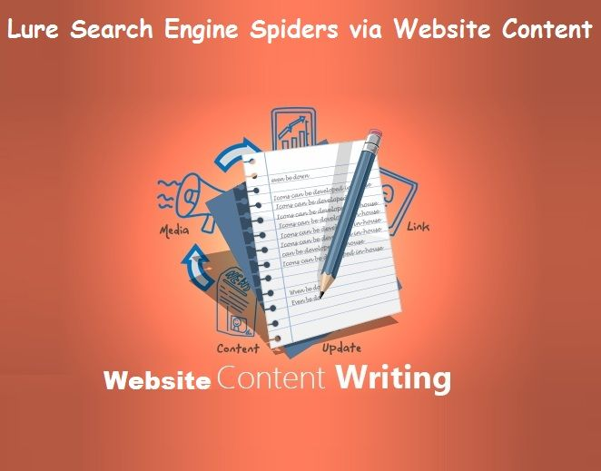 Lure #SearchEngine #Spiders via #Website #Content – #socialmedia #contentwriting
