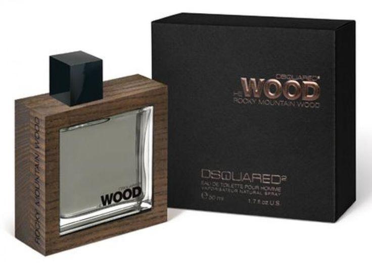 He Wood Rocky Mountain Wood (men) 50ml edt - парфюмерия Dsquared2 #Dsquared2 #parfum #perfume #parfuminRussia #vasharomatru