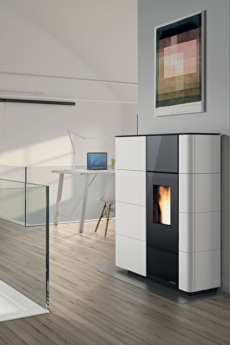 Oltre 1000 idee su stufa a pellet su pinterest stufe stufe a legna e camini - Pellet stoves for small spaces set ...