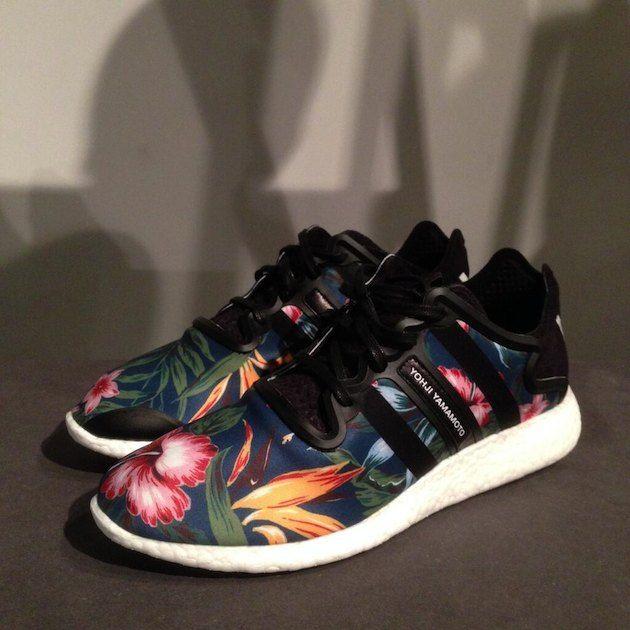 #adidas Y-3 Yohji Boost Floral #sneakers