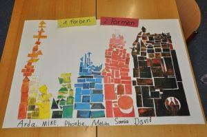 """Projektoche """"Kunst aufräumen"""" mit einer 2. Klasse"""