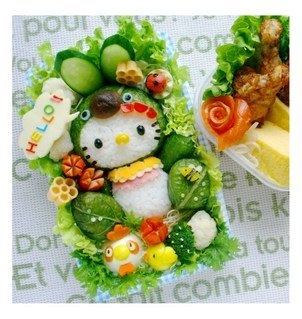 kawaii food - seriously, who has time for this, and will you please use it to clean my house. Thanks.