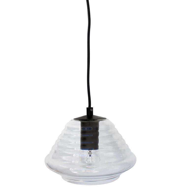 Ceiling Lamps - Glass Bowl Pendant Light   Matt Blatt