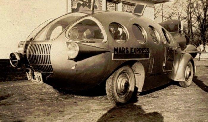 Mars Express - Brooks Stevens