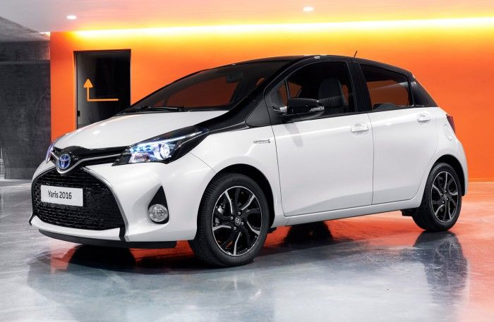 Toyota Yaris 2016 front