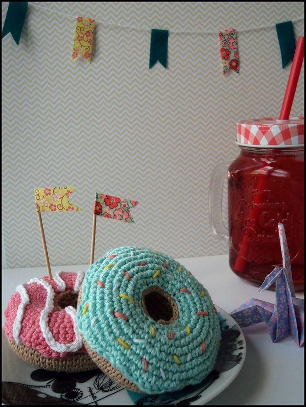 Donuts au crochet Cam&Drey bricolent...