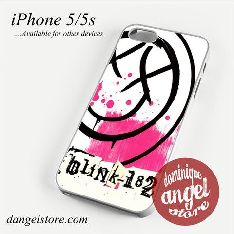 Blink 182 Logo 2 Phone case for iPhone 4/4s/5/5c/5s/6/6 plus