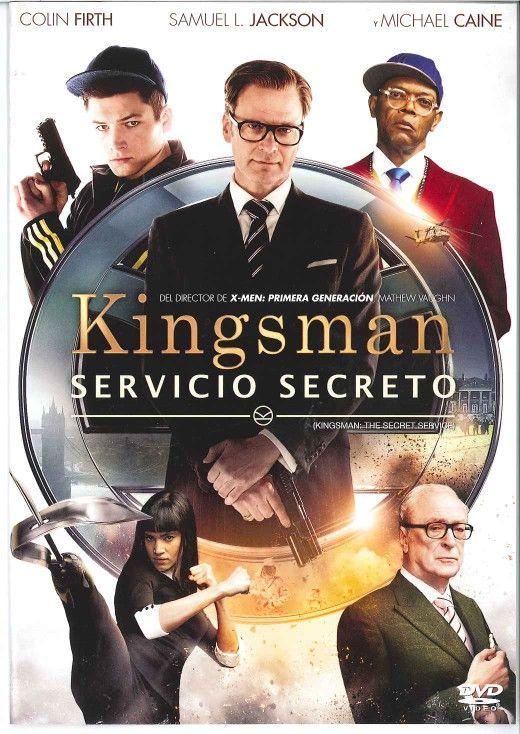 Kingsman: servicio secreto (2014) Reino Unido. Dir: Matthew Vaughn. Comedia. Acción. Thriller - DVD CINE 2391
