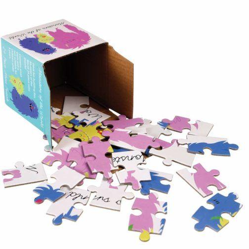 Puzzle Monstruo de Colores