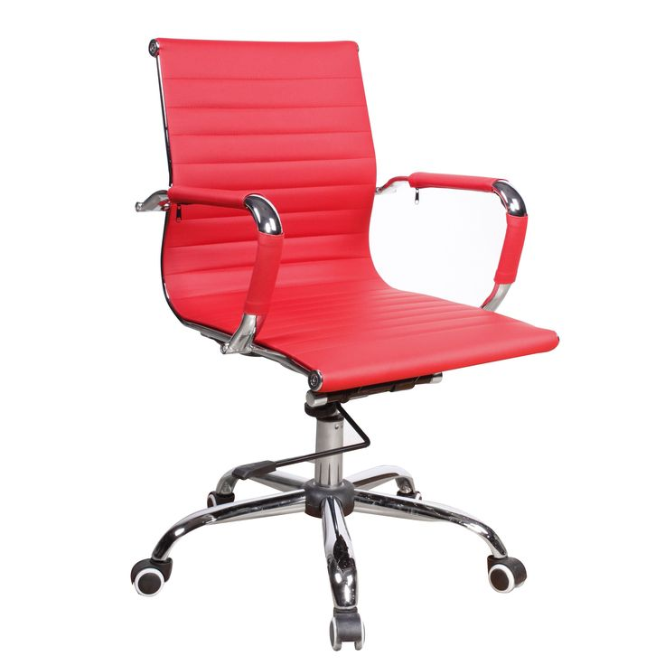 Christopher Knight Home Modern Red Upholstered Adjustable Office Chair (Modern Red Upholstered Adjustable Office Chair)
