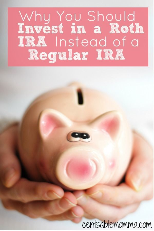 You want to save money for retirement, but you're confused about whether you should invest in Roth IRA or a regular IRA. Find out why I think that a Roth IRA is the best option for your retirement savings.
