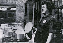 Julia Child was an American chef, author, and television personality. She is recognized for introducing French cuisine to the American public with her debut cookbook, Mastering the Art of French Cooking