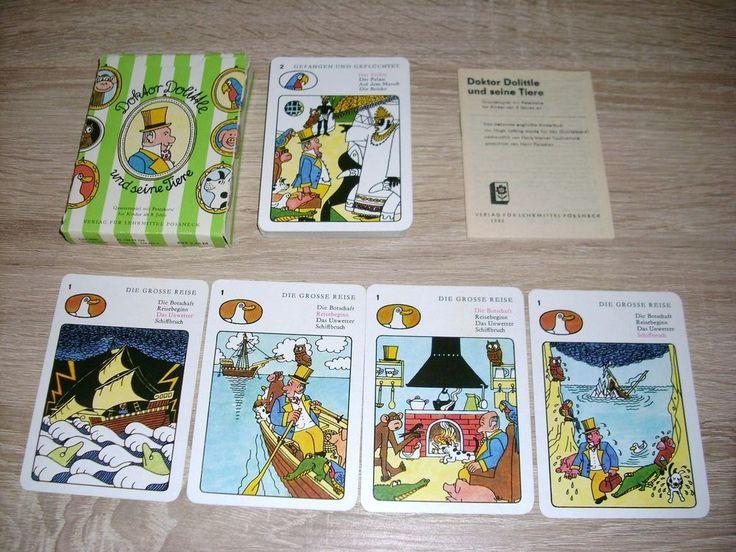 Doktor Dolittle u seine Tiere Quartett m Peterkarte
