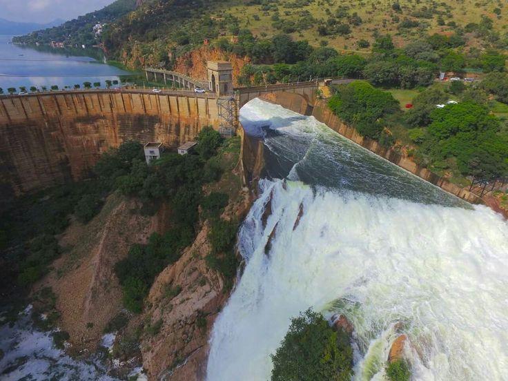 Dam Wall Hartbeespoort South Africa