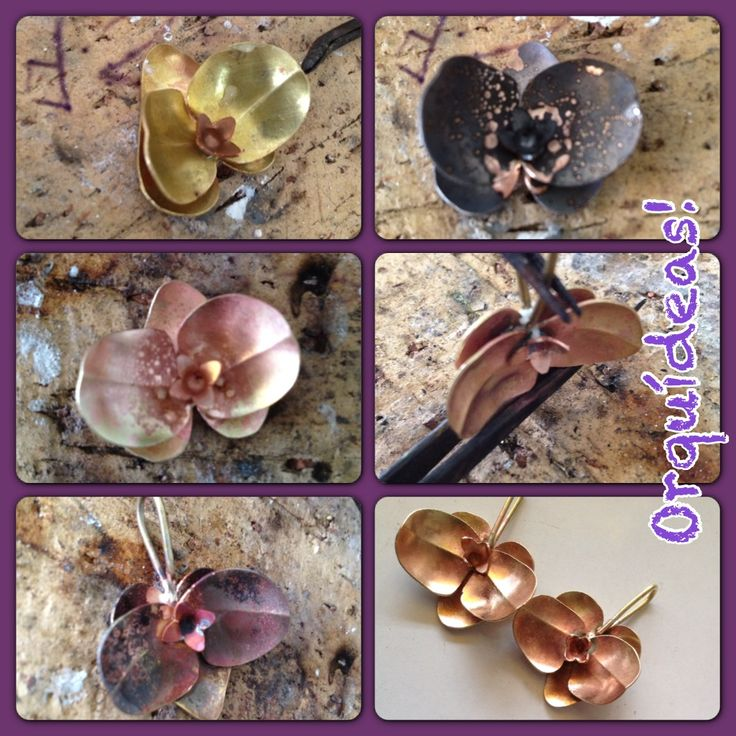 Orchids pendants making of....