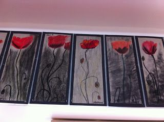 Welcome to Room 13's Blog!: Anzac Poppy Art