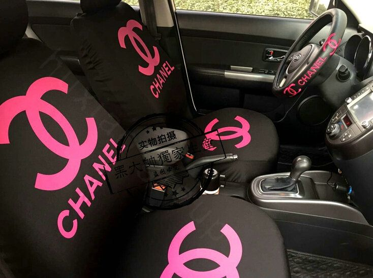Buy Wholesale Luxury Chanel Universal Auto Seat Covers For Cars Cotton Full Set 10pcs - Black Rose from Chinese Wholesaler - hibay.gd.cn