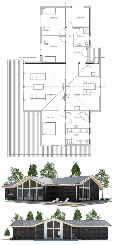 Small House Plan, Floor Plan