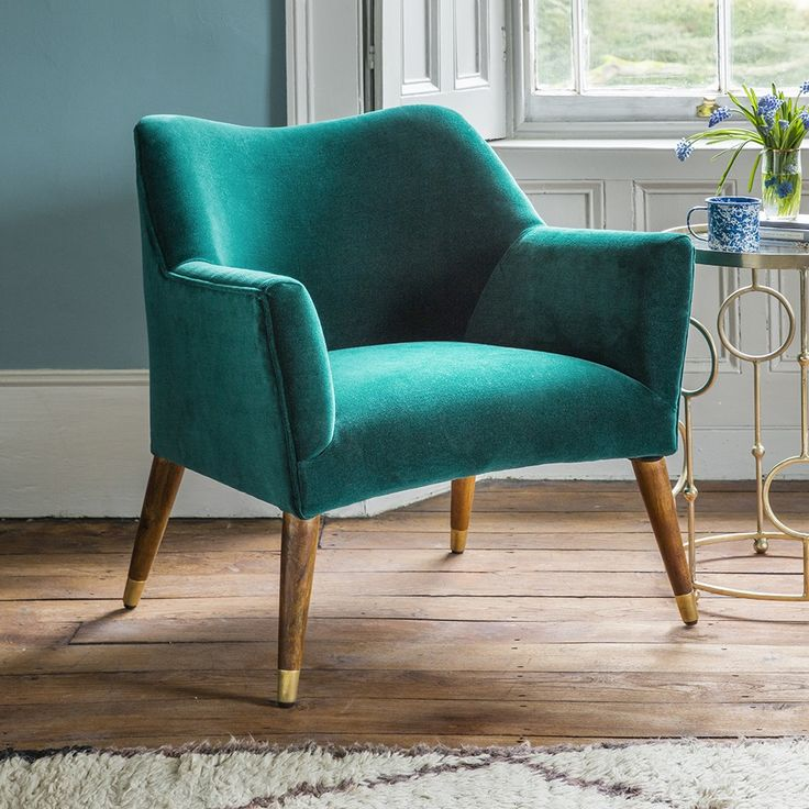 Best 25+ Teal armchair ideas on Pinterest | Upholstered ...
