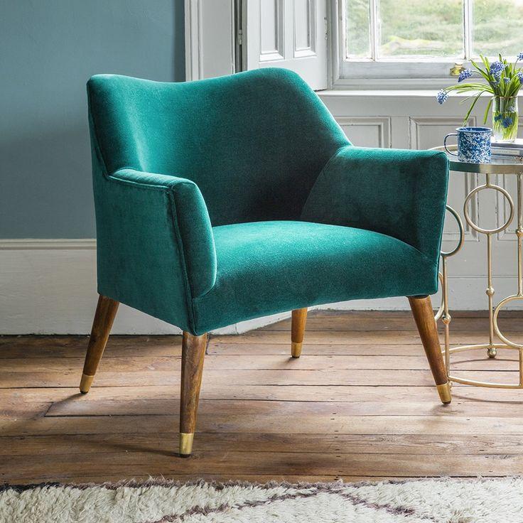 Best 25+ Teal armchair ideas on Pinterest | Upholstered ...