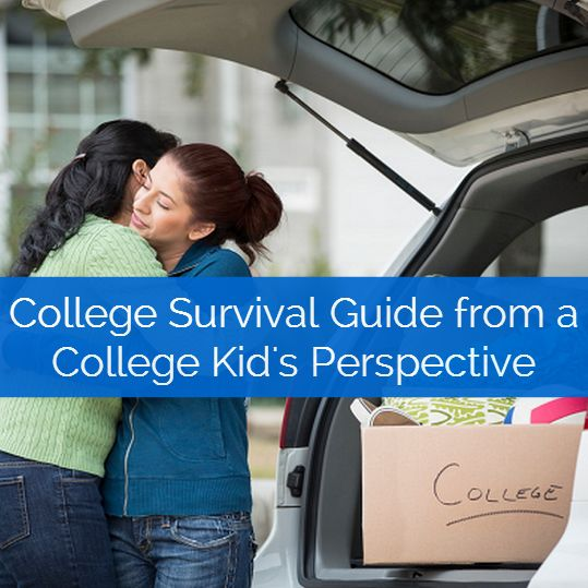 College survival guide from a college kid's perspective. Tips and tricks for the transition to college!