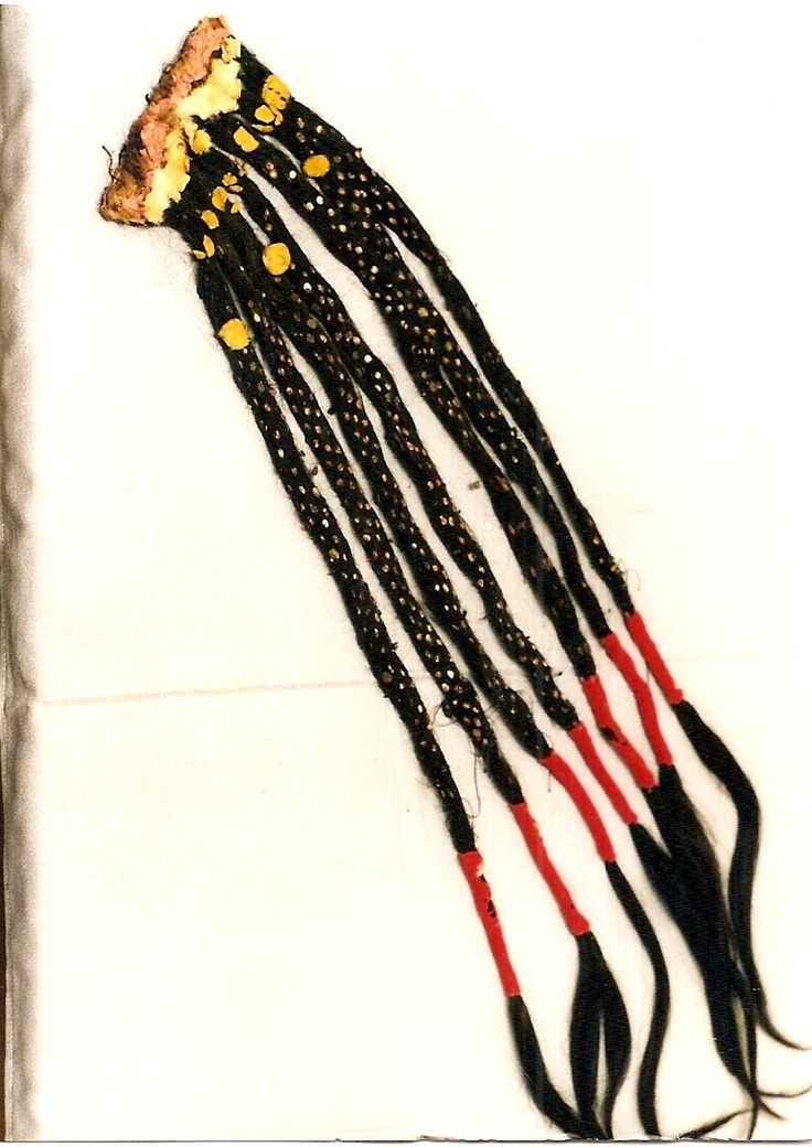 Hair extension blackfoot piikani beadwork pinterest for What crafts did the blackfoot tribe make