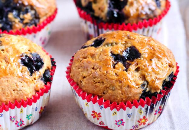 Wholemeal Blueberry Banana Muffins - Real Recipes from Mums