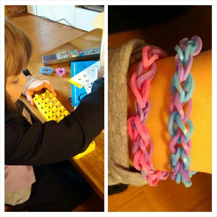 Bracelets en élastiques - 28 Avril 2014
