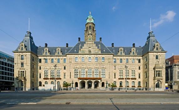 Stadhuis (City Hall) Rotterdam (Holland)