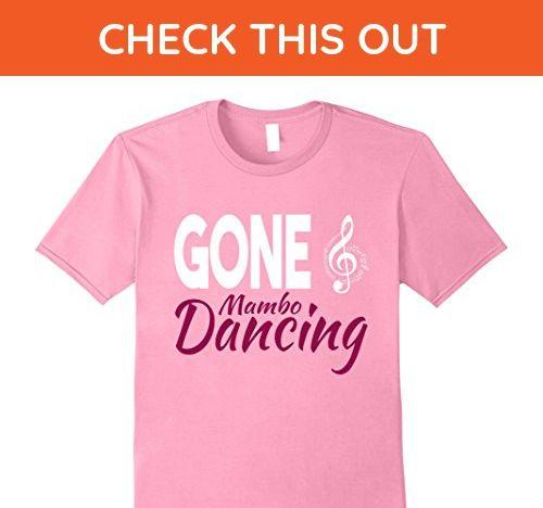 Mens Gone Mambo Dancing Dance Workout T-Shirt 3XL Pink - Workout shirts (*Amazon Partner-Link)